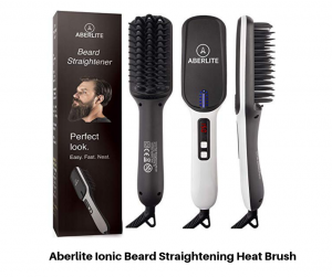 Aberlite Ionic Beard Straightening Heat Brush