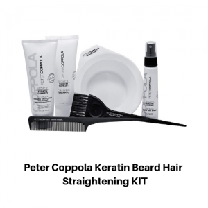 Peter Coppola Keratin Beard Hair Straightening KIT