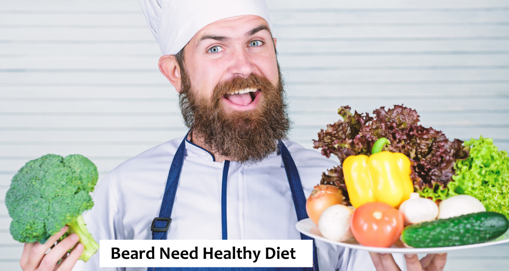 Healthy Diet for Beard
