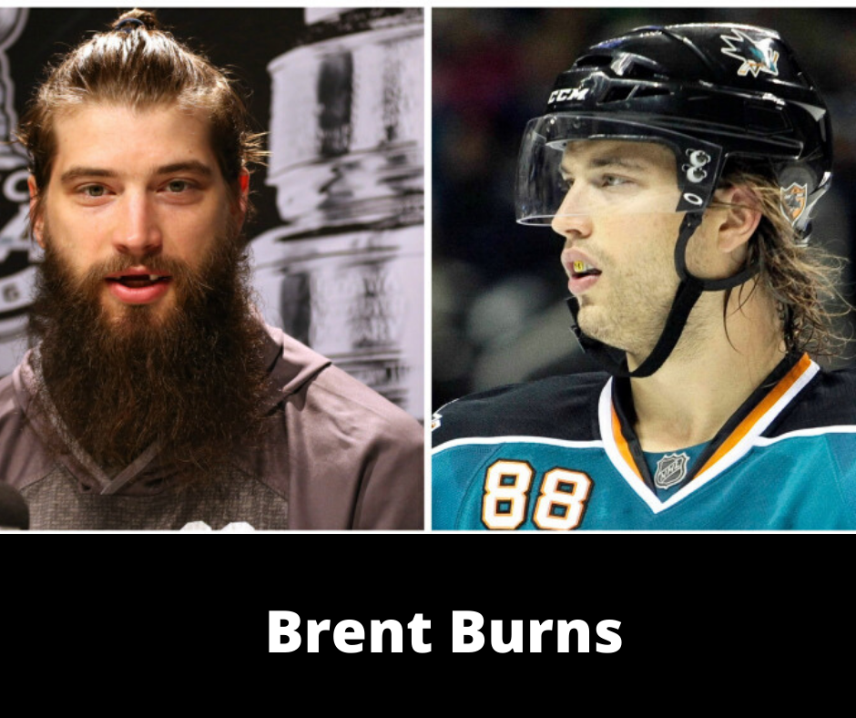 Brent Burns with beard