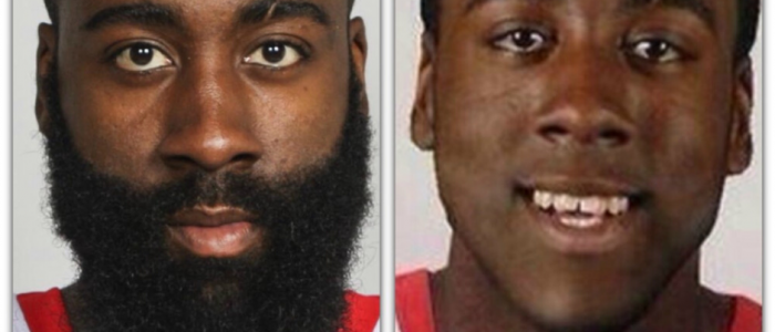 Top Athletes With and Without Beard | James Harden will amaze you